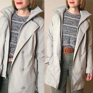 Columbia Zenith Vista waterproof trench rain coat